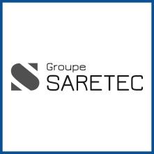 SARETEC logo carré NeB