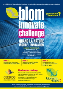 Affiche BIOMinnovate challenge